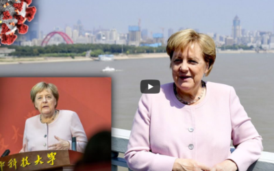 Merkel hält NWO Rede in Wuhan — Oliver Janich