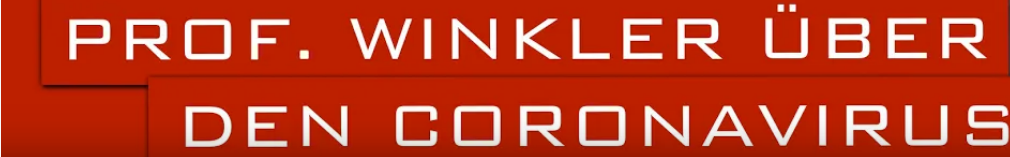 Prof. Dr. Janos Winkler zum Thema Corona