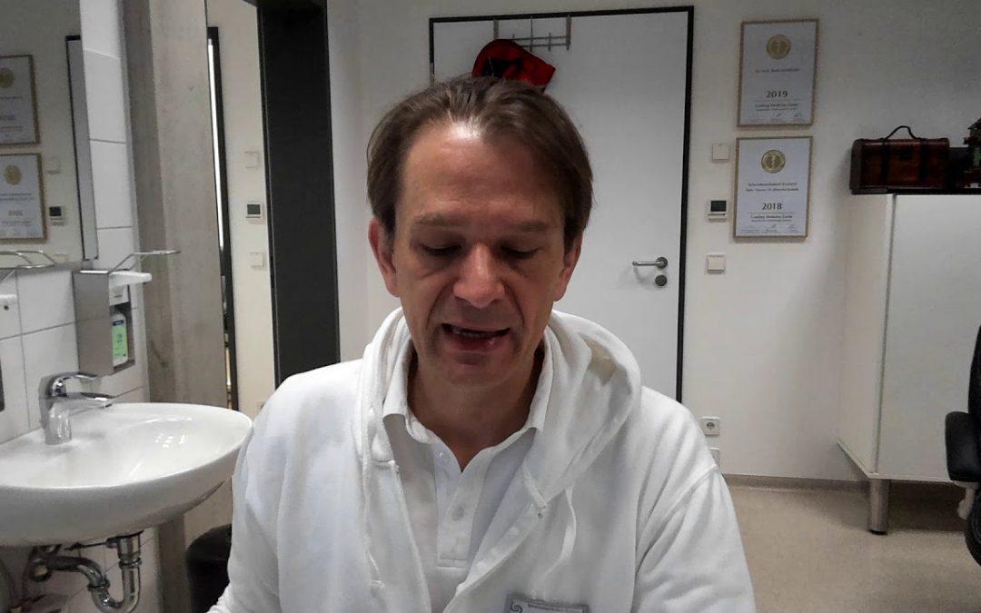 Stellungnahme Bodo Schiffmann dem Gesundheitsamt gegenüber