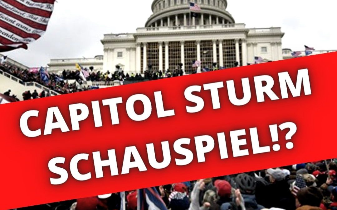 Was am Capitol Shooting in Washington falsch ist, analysiert und aufgedeckt!