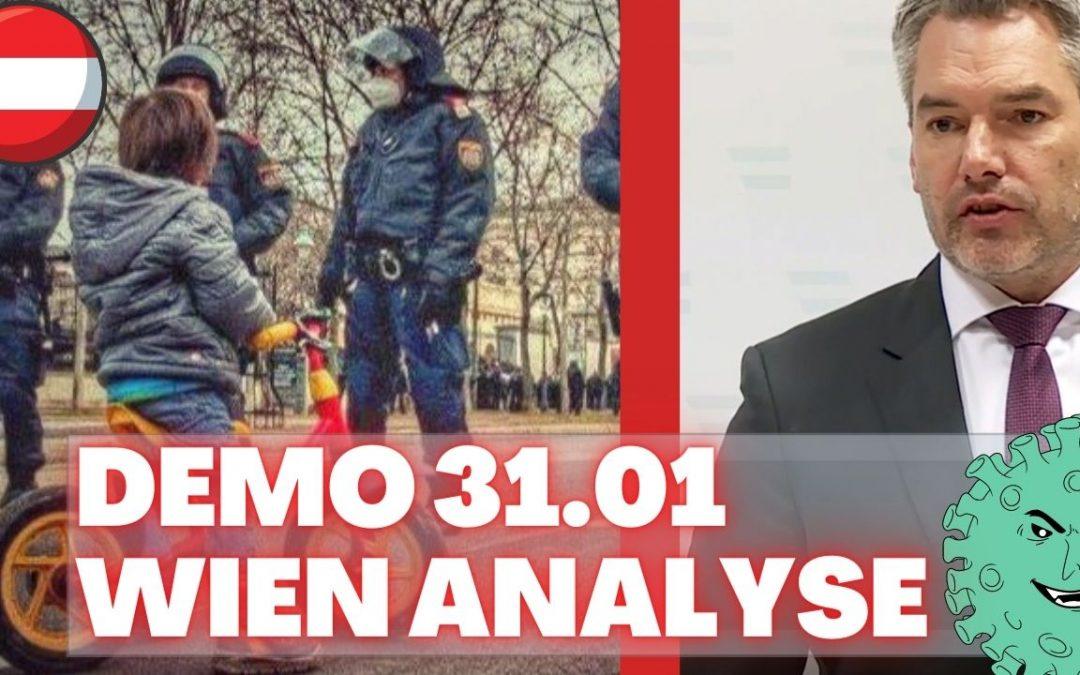 Demo 31.01. Wien Analyse Statements Unterstellungen und Framing❗❗