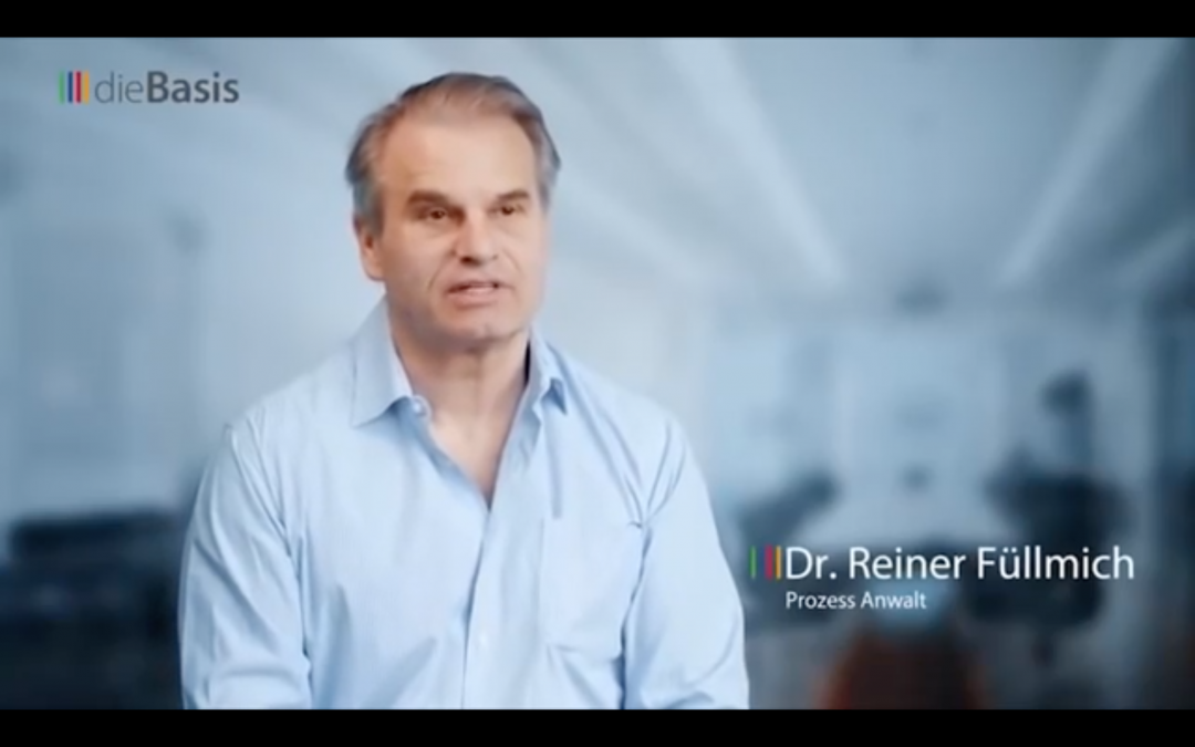 Dr. Reiner Füllmich Interview — Ohne Freiheit ist alles nichts