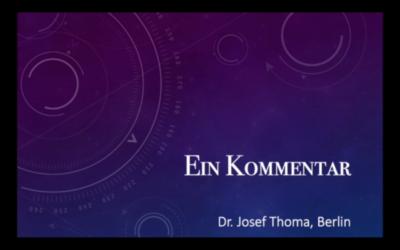 Der Berliner Arzt Dr. Josef Thoma erklärt — KLARTEXT [PI POLITIK SPEZIAL]