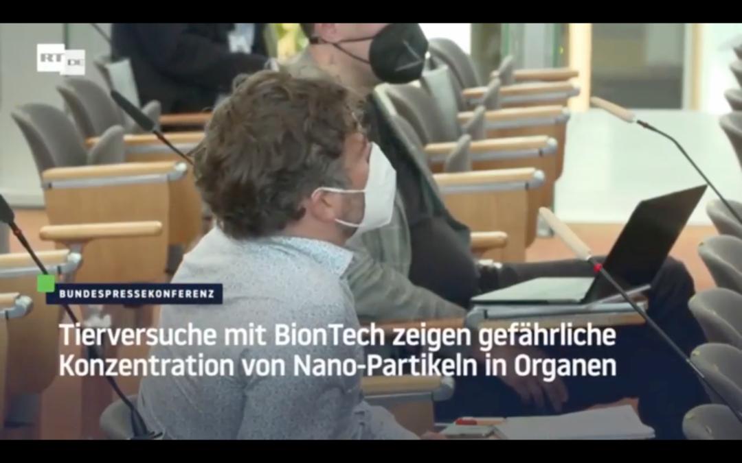 Tierversuche mit BioNTech-Impfstoff zeigen gefährliche Konzentration von Nano-Partikeln in Organen
