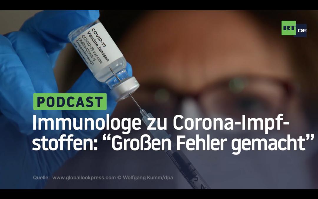 """Kanadischer Immunologe zu Corona-Impfstoffen: """"Wir haben einen großen Fehler gemacht"""""""