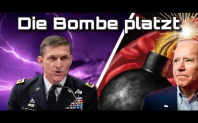 General Flynn: In wenigen Wochen platzt dieBombe