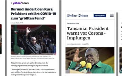 Dr. Pierre Gilbert, Ferroproteine, Hutu und Tutsi — Gemeinsamkeiten?