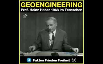 1968: GEOENGINEERING WAR BEREITS DAMALS KLAR