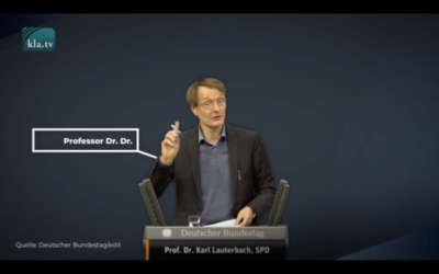 Die Akte Karl Lauterbach: Dringende Warnung vor dem Warner!