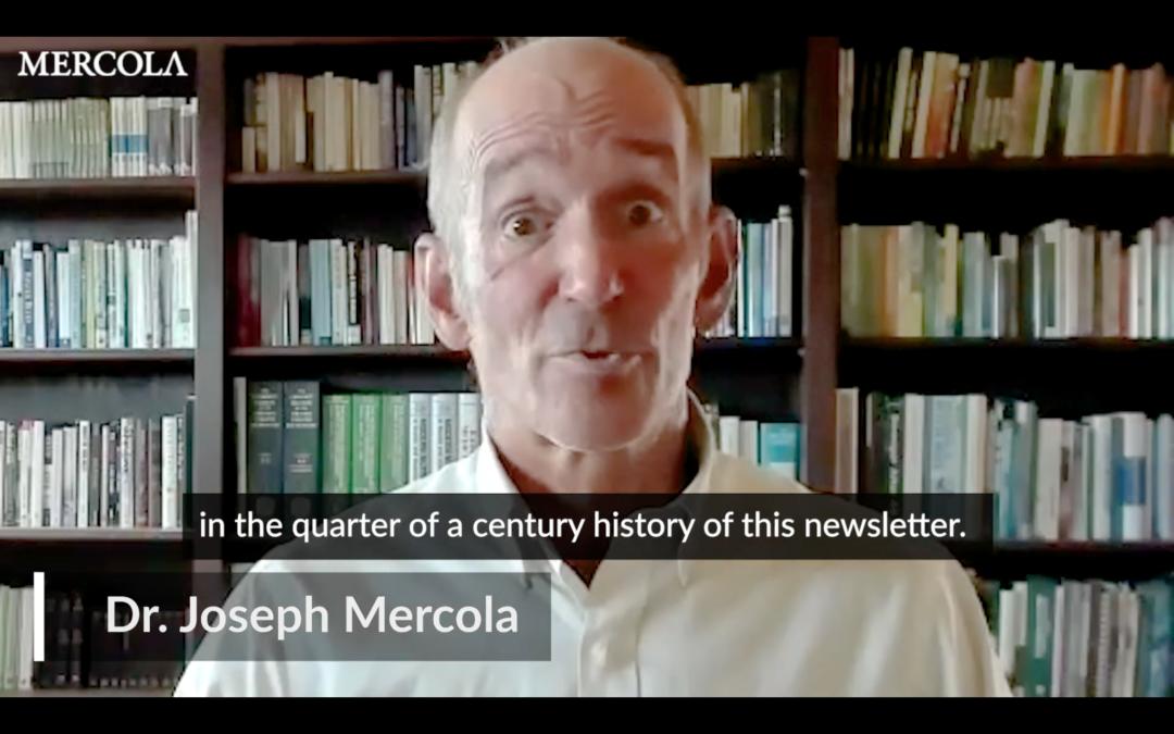 Dr. Joseph Mercola: Warum ich alle Inhalte nach 48 Stunden lösche