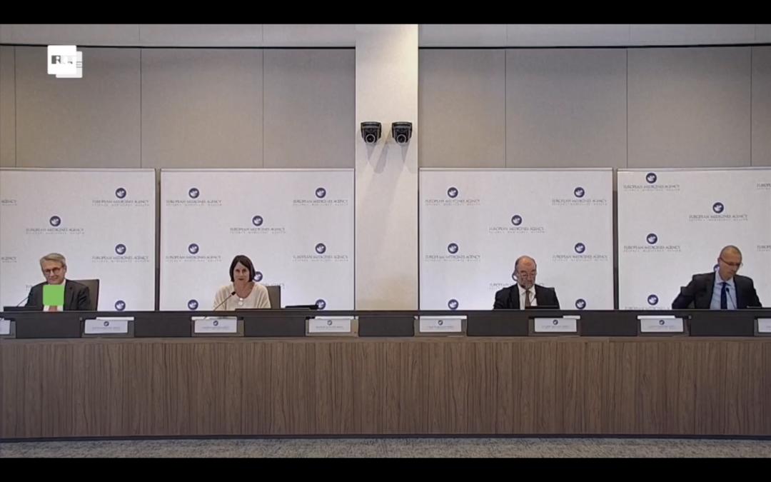Pressekonferenz zu Auffrischungsimpfungen für COVID-19-Impfstoff Pfizer-BioNTech